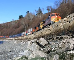 Burlington Northern (Mike Dole) Tags: seattle carkeekpark