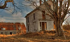Alone (iJohn) Tags: old house abandoned tag3 taggedout barn bravo tag2 tag1 farm haunted personalfavorite lookatme mireasrealm top20hdr gtaggroup tophdr