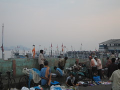 Ferry Wharf 028 (Sanjay Shetty) Tags: fish ferry fishermen wharf bhaucha dhakka