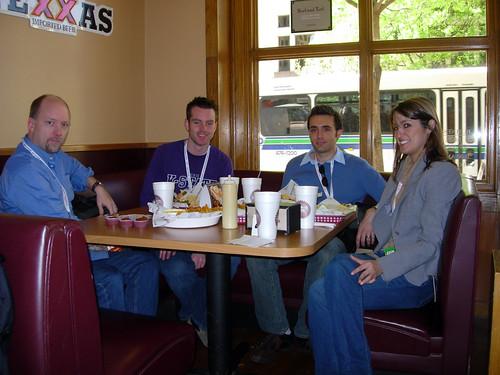 Steve, Josh, Dave, and Jessa