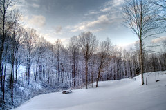 Winter HDR - by FrAnthony