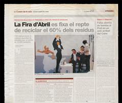 2005/04/21 El Peridico de Catalunya (PA) Tags: barcelona graphicdesign dance andaluca mural flamenco feriadeabril dansa raimundomorte raimundo firadabril elperiodico