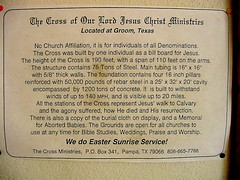 Groom Texas 011 (Pauls Travel Photos) Tags: road trip travel vacation usa america groom texas cross unitedstates jesus roadtrip calvary groomtexas usatravel travelusa