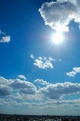 (chikache) Tags: sky sun japan clouds nagoya