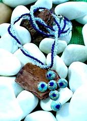 COLAR (MIBSASHA) Tags: necklace handmade moda bijoux bijuteria polymerclay fimo sculpey colar jewerly pingente bijouteria cermicaplstica miangas pedentif pastesintetiche acessrio