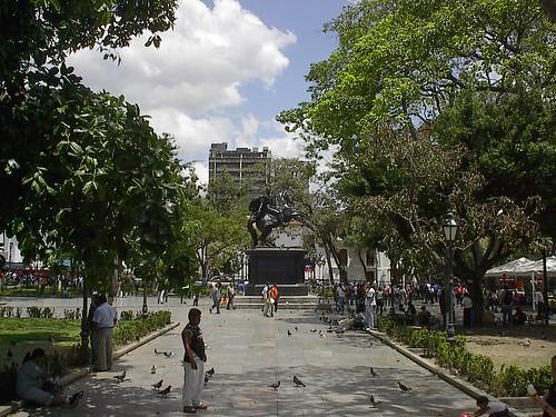 Plaza Bolivar, Caracas