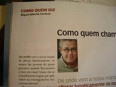 Miguel Esteves Cardoso (rvacapinta) Tags: portugal expresso metafilter mec miguelcardoso miguelestevescardoso