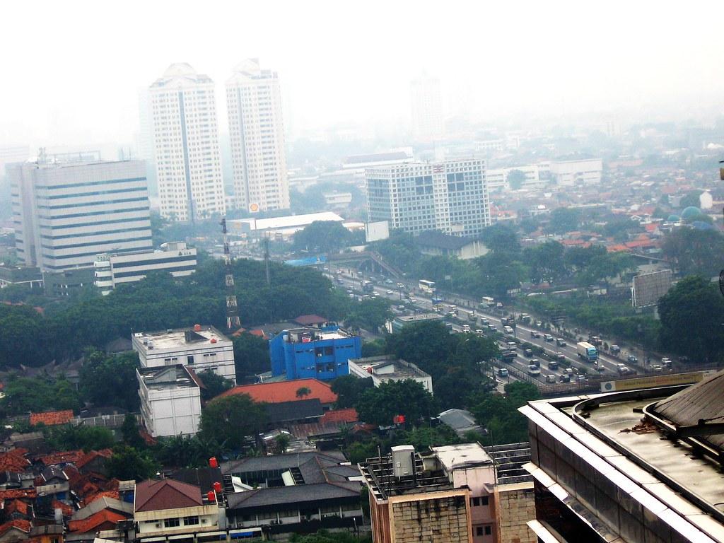 Jakarta from Menara Peninsula
