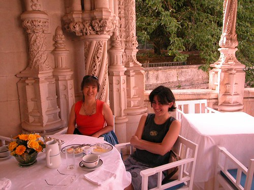Breakfast at Bussaco