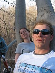 Climbing2 184 (kariwhite) Tags: tree bob climbing kari donnie ewen ellicottcity touchthesky