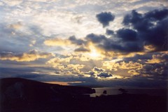 morning (s0ulsurfing) Tags: ocean sea sky sun seascape beach water tag3 taggedout clouds sunrise landscape island dawn bay coast morninglight tag2 tag1 isleofwight coastline wight daybreak freshwater swain freshwaterbay lovephotography s0ulsurfing