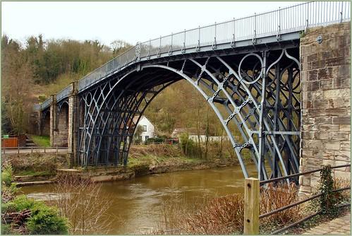 The Iron bridge Shropshire UK