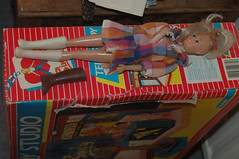 Sindy on her TV studio (emma channon) Tags: toy doll sindy