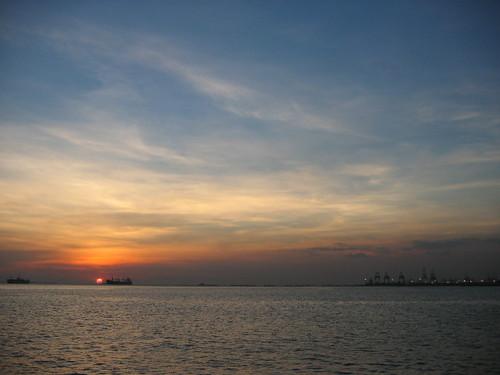 ship and sky