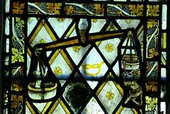 Brightwell Baldwin, Oxon, nIV, 1a (Vitrearum (Allan Barton)) Tags: souls stainedglass medieval scales demon devil oxfordshire weighing lastjudgement brightwellbaldwin