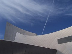 Angles (Neil101) Tags: blue sky abstract building geometric lines metal museum architecture silver manchester war industrial contemporary north shapes imperial blogged salford quays imperialwarmuseum bbcmanchesterblog