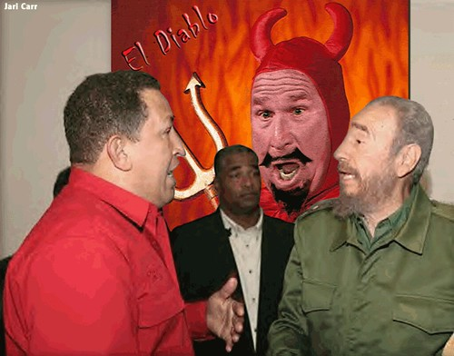 Chavez, Fidel and the Devil