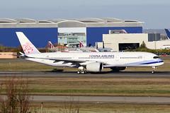 30 novembre 2016 - CHINA  AIRLINES - Airbus A 350-900  F-WZFO  msn 066  (B-18903) - LFBO - TLS (gimbellet) Tags: canon nikon spotting spotter boeing blagnac lfbo toulouse transport transportation tls toulouseblagnac a330 a380 airplanes a320 a340 aircraft aviation avions aeroport airbus atr airport a350 aeronautique airplane aeroplane
