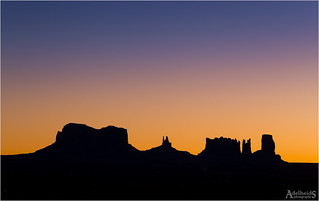Monument Valley Sunrise, Utah, USA (explored)