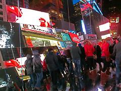 New York Holiday #19 (Ted Tamada) Tags: newyorkcity timessquare tamada tedtamada tedsphotography tedtamadaphotography tamadaphotography streetphotography streetwork casioexilim pointandshootcasioexilim
