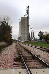 Mitchellville, Iowa, Iowa Interstate Railroad, Grain Elevator (photolibrarian) Tags: mitchellvilleiowa iowainterstaterailroad grainelevator