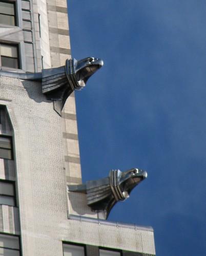 Eagle Gargoyles on top of Chrysler Building
