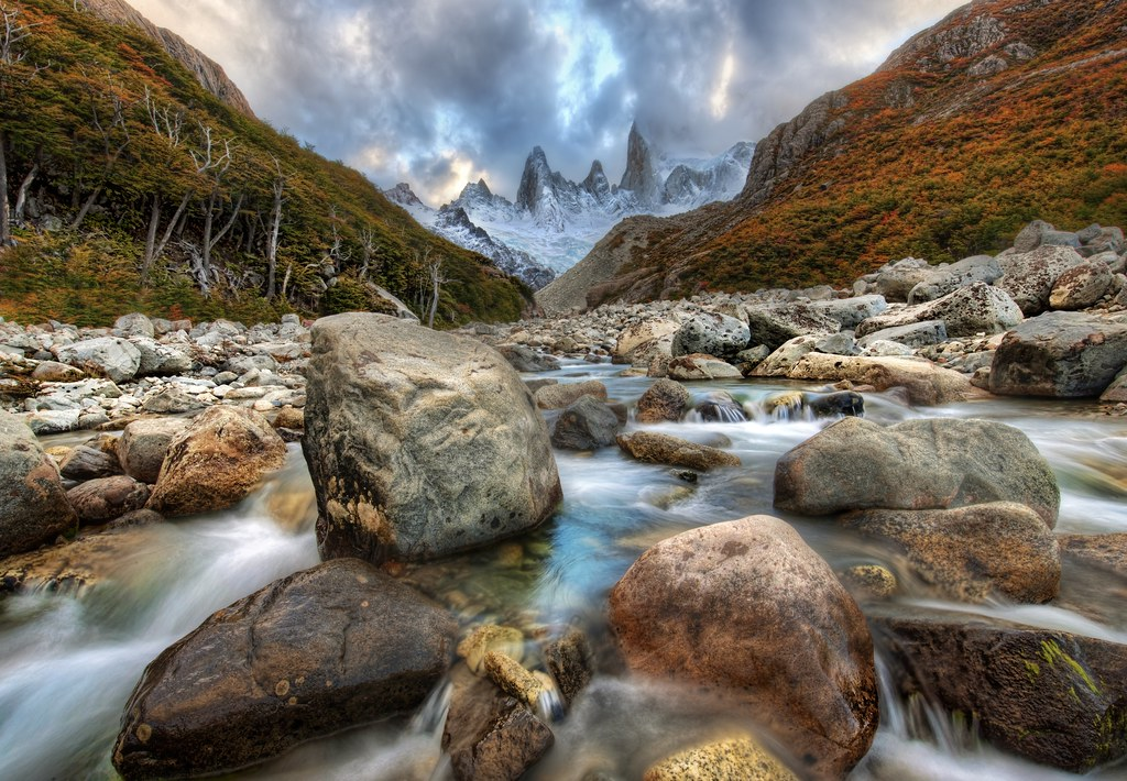 The River Runs Through the Andes