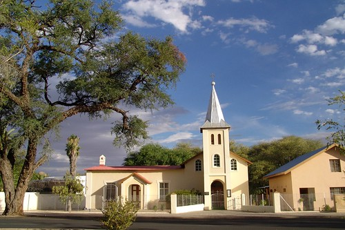 A church in Damaraland, Namibia
