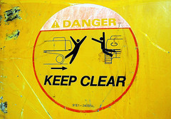 Keep Clear...of Stupid People (See El Photo) Tags: 15fav sign danger 510fav warning ouch sticker explore 100views 400views 300views 200views 500views funnysigns warningsign 1000views stickpeople 1f dangersign faved keepclear 5f 7f 555v5f 333v3f 222v2f 444v4f 111v1f 1000v 2000views 400v explorepage 900views 2500views 999v9f 666v6f 9f 1500views 2800views explore133 510faved