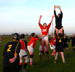 Get two hands on it! (JuanJ) Tags: uk england art photoshop lumix interestingness cs2 unitedkingdom rugby union panasonic eruope fz league fz30 iwantse7en