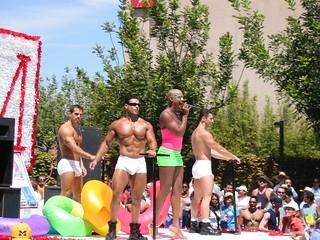 Gay Pride Parade, Hillcrest, San Diego, California