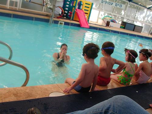 Yen in Swimming lesson