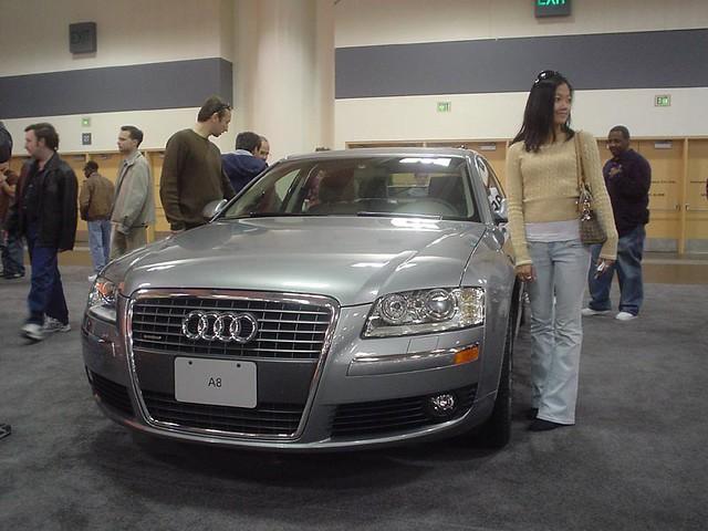 sanfranciscointernationalcarshow2005 audi a8 short quattro wheel base