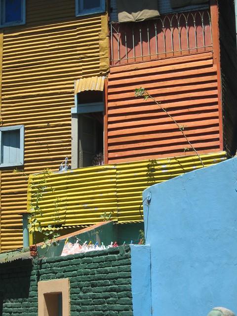 """Y for """"Yellow"""", La Boca"""