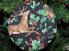"""O, the rising of the sun and the running of the deer (Crfullmoon) Tags: december 2005 solstice yuletime textile ornament deer"