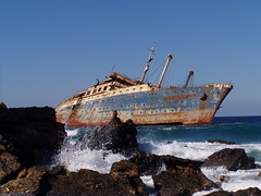 American Star (Iveta) Tags: sea beach wow boat interestingness cool ship fuerteventura canarias explore wreck americanstar iveta wrack 250v10f byiveta