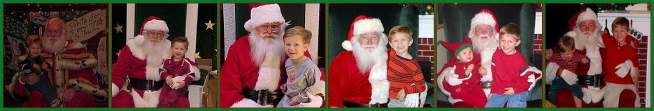 Santa Through the Years
