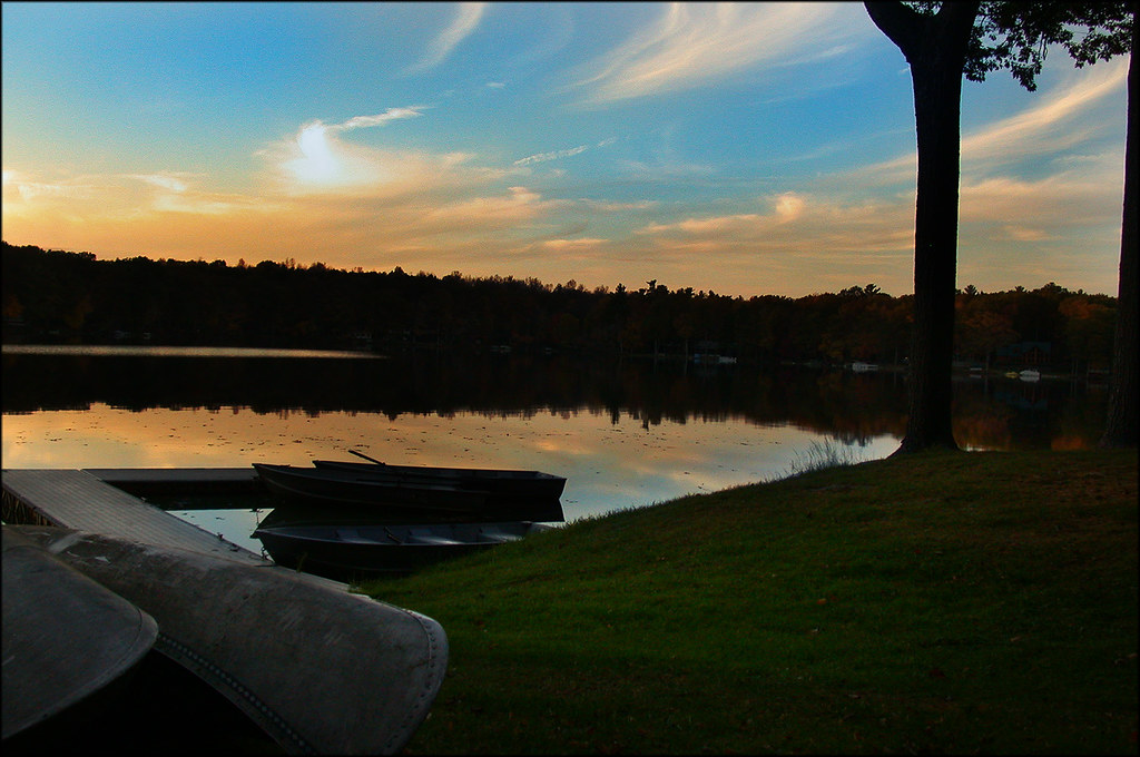 Pocono sunset 1