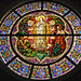 Stained glass window, St. Mary's Basilica, Phoenix
