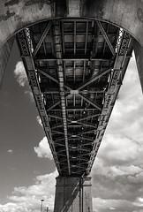 (-Antoine-) Tags: bridge cloud canada clouds montral quebec montreal symmetry qubec pont nuage nuages jacquescartier symtrie antoinerouleau