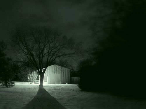 Dark Winter Night by It'sGreg.