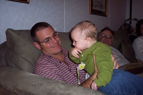 Zach & Uncle Josh - Christmas 2005