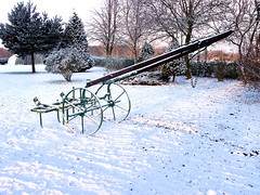 "seed drill in snow • <a style=""font-size:0.8em;"" href=""https://www.flickr.com/photos/87605699@N00/78623927/"" target=""_blank"">View on Flickr</a>"