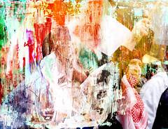 (-Antoine-) Tags: 2002 canada texture primavera painting support paint montral quebec montreal palestine muslim protest peinture qubec muslims papier stcatherine stecatherine manifestation saintecatherine palestinians palestinian paintover palestininan tirage palestinien palestiniens