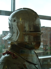 Endorsed by Brasso (rmwhittaker1012000) Tags: yorkshire helmet leeds armour royalarmouries platemail sallet leedsroyalarmouries closehelmet