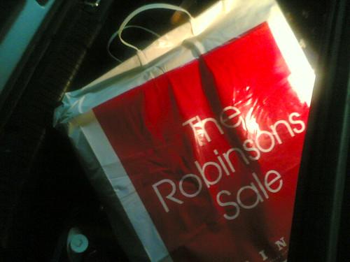 A morning at Robinson's