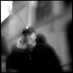 The Razrs Edge (Bill Vaccaro) Tags: urban bw chicago blur film illinois bob homemade pentacon homemadelens outofcontxt notraces