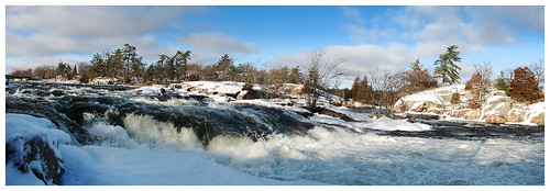 winter panorama ontario canada topv111 landscape geotagged waterfalls trentsevernwaterway trentcanal fav10 burleighfalls geo:lat=44555494 geo:lon=78201456 perfectpanoramas 230countriescanada regioncottagecountry last16favs1 last16favs2
