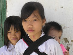 P1010020 (Haggai Shachar) Tags: sapa vietnam asia kids girls face look topv50