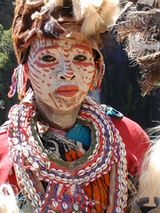 "Kikuyu woman ""traditional"" dress/costume"
